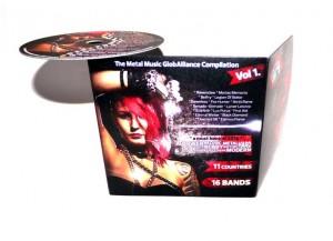 CD The metal music globalliance compilation vol 1