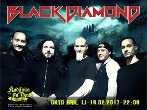 CONCERT BLACK DIAMOND: ORTO BAR – Ljubljana (SLOVENIA) @ Koncert Black Diamond - Orto Bar | Ljubljana | Slovenia